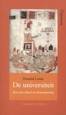 De universiteit - Donald Loose (ISBN 9789056254612)