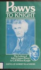 The Letters of John Cowper Powys to G.R. Wilson Knight - John Cowper Powys (ISBN 9780900821486)