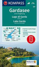 Gardasee und Umgebung - Lake Garda and its surroundings - Lago di Garda e dintorni 1:35 000 (ISBN 9783990443095)