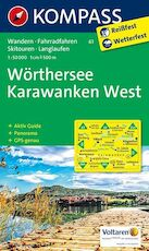 Wörthersee, Karawanken West 1 : 50 000 (ISBN 9783850267069)