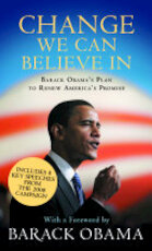 Change We Can Believe in - Barack Obama (ISBN 9781847674326)