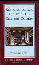 Restoration & Eighteenth Century Comedy 2e (NCE) - Scott Mcmillin (ISBN 9780393963342)