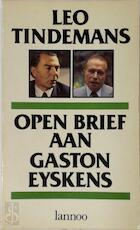 Open Brief aan Gaston Eyskens