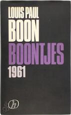 Boontjes 1961 - Louis Paul Boon, Herwig Leus (ISBN 9789050670913)