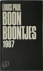 Boontjes 1967 - Louis Paul Boon, Louis Julien Weverbergh (ISBN 9789052407081)