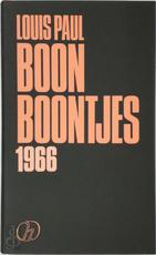 Boontjes 1966 - Louis Paul Boon, Louis Julien Weverbergh (ISBN 9789052405841)