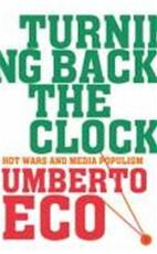 Turning back the clock - Umberto Eco (ISBN 9781846550355)