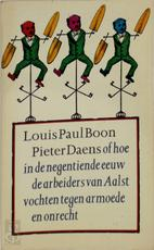 Pieter Daens - Louis Paul Boon (ISBN 9029502975)