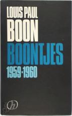 Boontjes / 1959-1960 - L.P. Boon (ISBN 9789050670524)