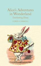Alice in Wonderland Everlasting Diary (ISBN 9781909621602)