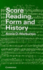 Score Reading, Form and History