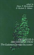 Dialogue and Deconstruction - Unknown (ISBN 9780791400098)