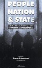 People, Nation and State - Unknown (ISBN 9781860644016)