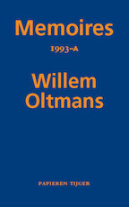 Memoires 1993-A - Willem Oltmans (ISBN 9789067283489)