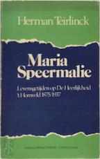 Maria Speermalie - Herman Teirlinck (ISBN 9789028414310)