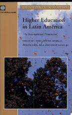Higher Education in Latin America - World Bank (ISBN 9780821362099)