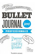 Bullet journal voor professionals (ISBN 9789047011057)