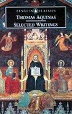 Selected Writings - Aquinas, Saint Thomas, Ralph M. McInerny, Thomas (ISBN 9780140436327)