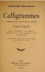 Calligrammes - Guillaume Apollinaire (ISBN 9782070300082)