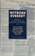 Witboek Everest - Edward Bekker (ISBN 9789038874562)