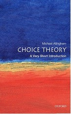 Choice Theory - Michael Allingham (ISBN 9780192803030)