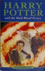 Harry Potter and the Half-Blood Prince - J. K. Rowling (ISBN 9780747584674)