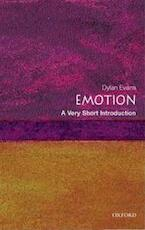 Emotion - Dylan Evans (ISBN 9780192804617)