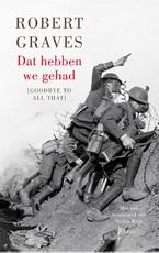 Dat hebben we gehad - Robert Graves (ISBN 9789026327261)