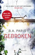 Gebroken - B.A. Paris (ISBN 9789026339400)
