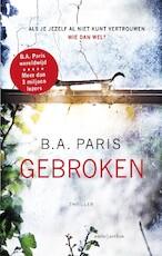Gebroken - B.A. Paris (ISBN 9789026341021)