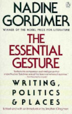 The Essential Gesture - Nadine Gordimer (ISBN 9780140122121)