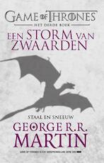 Game of Thrones 3 1 Storm van zwaarden - staal en sneeuw - George R.R. Martin (ISBN 9789024563951)