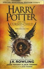 Harry potter and the cursed child:parts one and two(special rehearsal edition) - J. K. Rowling (ISBN 9780751565355)