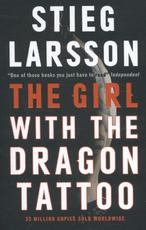 Girl with the Dragon Tattoo - stieg larsson (ISBN 9780857054036)