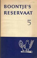 Boontje's reservaat 5 - Louis Paul Boon