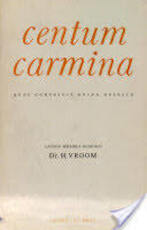 Centum carmina - Vroom (ISBN 9789004023925)