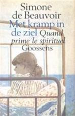 Met kramp in de ziel - Simone De Beauvoir, Jeann Holierhoek