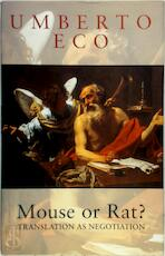 Mouse or rat? - Umberto Eco (ISBN 9780297830016)