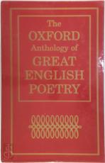 The Oxford Anthology of Great English Poetry - Unknown