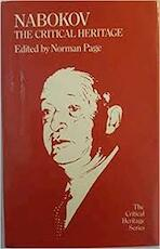 Nabokov: The Critical Heritage - Norman Page (ISBN 0710092237)