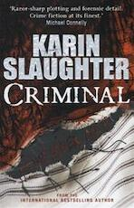 Criminal - Karin Slaughter (ISBN 9781846057977)