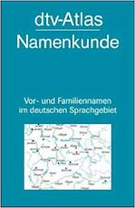 DTV-Atlas Namenkunde - Konrad Kunze (ISBN 9783423032667)