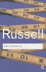 ABC of Relativity - Bertrand Russell (ISBN 9780415473828)