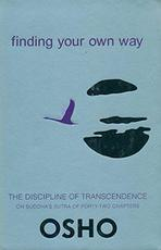 Finding Your Own Way - Osho (ISBN 9788172612740)