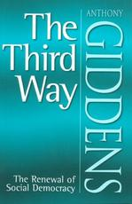 The Third Way - Anthony Giddens (ISBN 9780745622675)