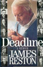 Deadline: A Memoir - James Reston (ISBN 9780394585581)