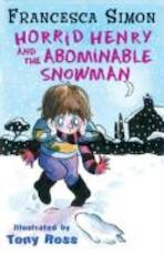 Horrid Henry and the Abominable Snowman - Simon Francesca (ISBN 9781842550700)