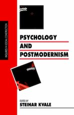 Psychology and Postmodernism - Steinar Kvale (ISBN 9780803986046)