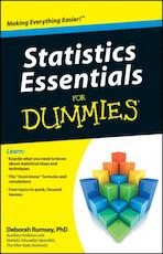 Statistics Essentials For Dummies - Deborah J. Rumsey (ISBN 9780470618394)