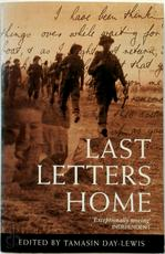 Last Letters Home - Tamasin Day-Lewis (ISBN 9780330342841)